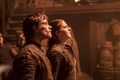 Yara and Theon Look Up at Euron.png