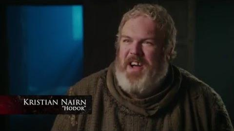 Game of Thrones Season 6 Episode 5 – Hodor's Sacrifice (HBO)