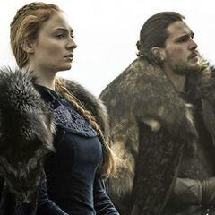 Sansa mit Jon