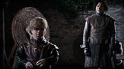Winter is Coming Tyrion and Jon