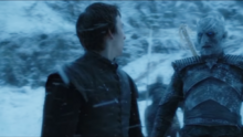 Bran meets the Night King (brighter picture)