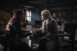Sansa & Dany S8 E2