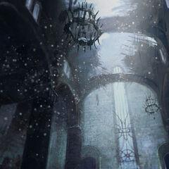 Thronsaal im Roten Bergfried