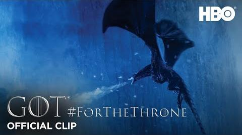 """Winter is here"" ForTheThrone Clip Game of Thrones Season 7"