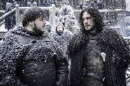 Jon and Samwell The Dance of Dragons