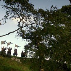 Einige Baratheon-Soldaten nahe des Königswegs.