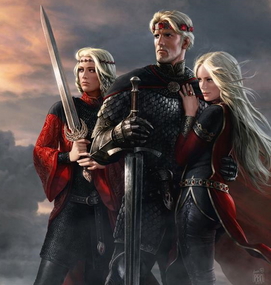 Aegon And His Sisters by Amok