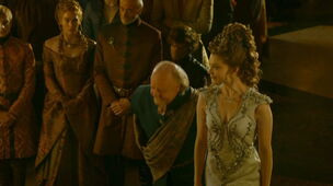 Margaery wedding dress Great Sept