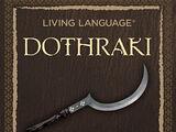 Dothrakische Sprache