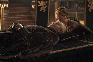 501 Tywin aufgebahrt und Cersei