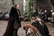 Robert at Winterfell