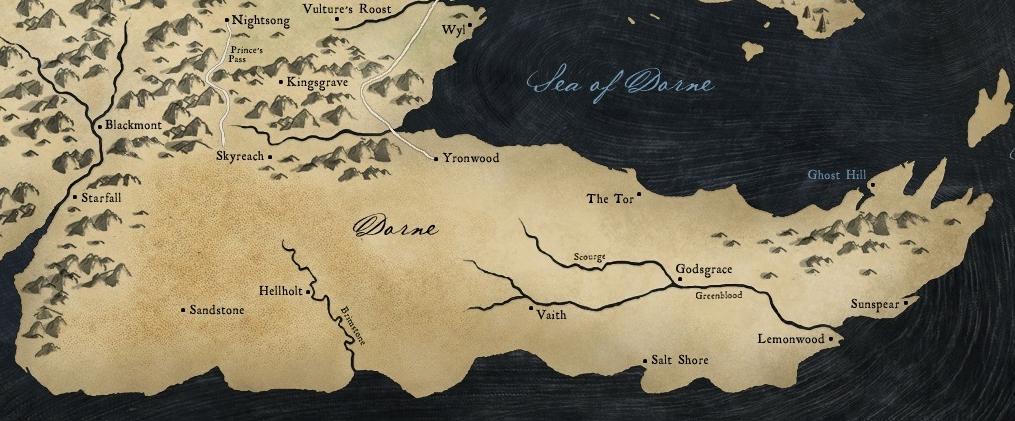 Dorne Game of Thrones Wiki