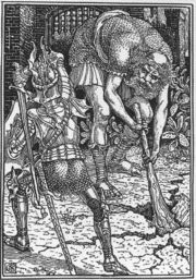 Walter Crane King Arthur and the Giant Book I, Canto VIII