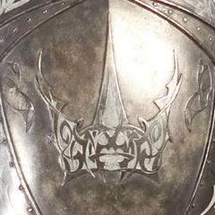 O símbolo da Guarda nas temporadas 1, 2 e 3