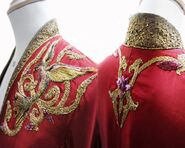 Cersei costume embroidery 2