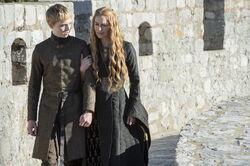 König Tommen und Cersei