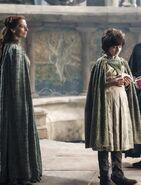 Robin arryn and mother Season 4