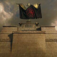 Spitze der Großen Pyramide