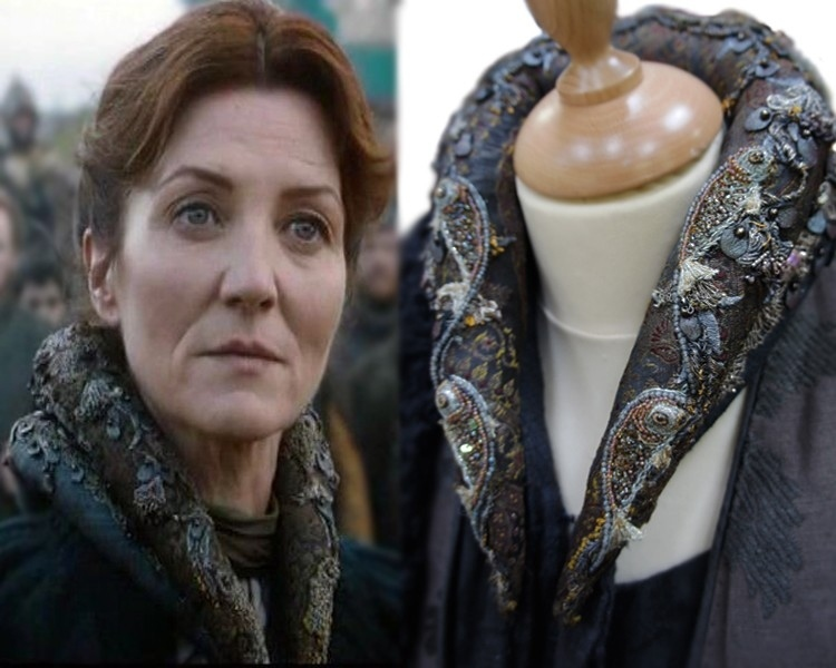 Image Catelyn Season 2 Collar Embroidery Detailg Game Of