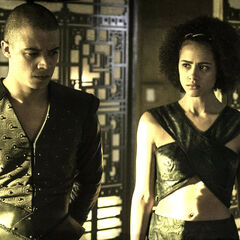 Grey Worm and Missandei in