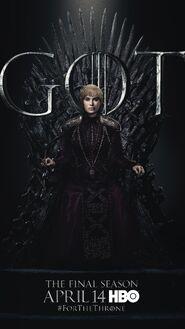 Season 8 poster Cersei