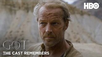 The Cast Remembers Iain Glen on Playing Jorah Mormont Game of Thrones Season 8 (HBO)