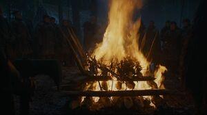 304 Bannens Verbrennung