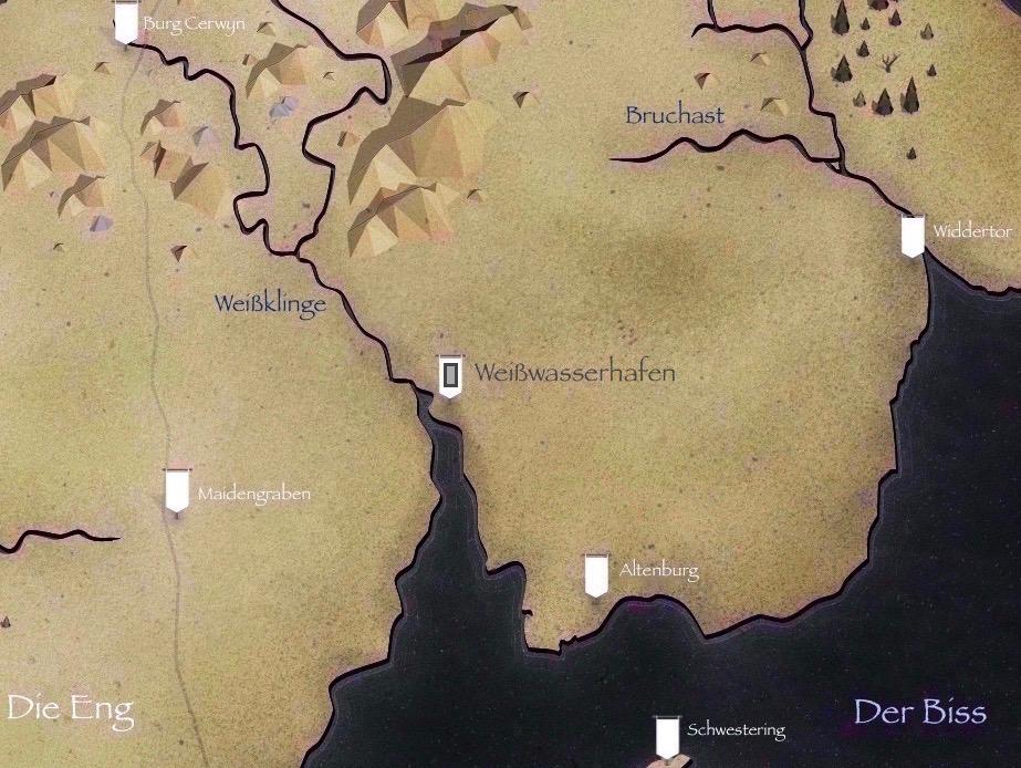 Got Karte Norden.Weisswasserhafen Game Of Thrones Wiki Fandom Powered By Wikia