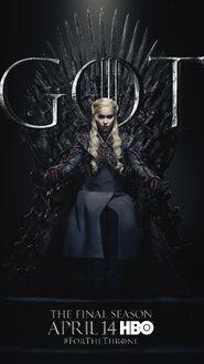 Season 8 poster Daenerys