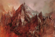 Dormant mountain