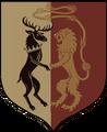 KL Baratheon mini shield