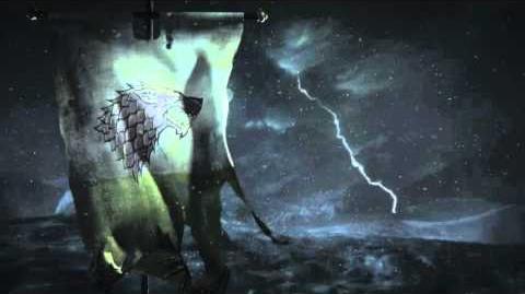 Game of Thrones Season 6 Stark Battle Banner Tease (HBO)