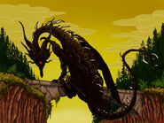 Black dragon kalameet by sakitaro-d8tbv0u