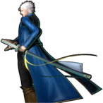 Vergil's Win Pose