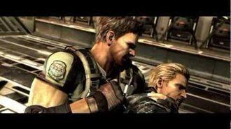 Resident Evil 5 Суши вёсла, Вескер!