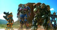 Autobots unite monument valley AOE