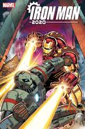 Iron Man 2020 Vol 2 3 Lim Variant