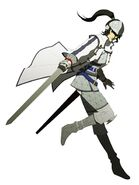 Protagonist SMTIV Samurai Outfit