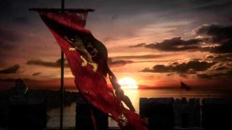 Game of Thrones Season 6 Lannister Battle Banner Tease (HBO)