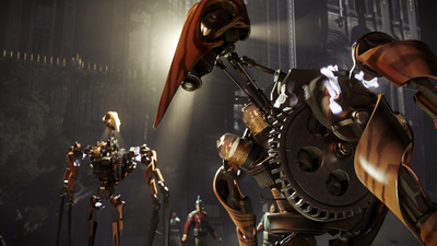 DISHONORED 2 CLOCKWORK SOLDIERS