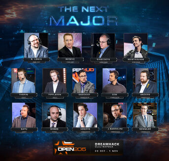 Cluj-Napoca 2015 Casting Lineup