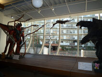 Gamera and Iris Suits in Cafe