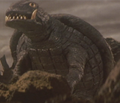 Gamera - 5 - vs Jiger - 15 - Gamera survived the flying Jiger