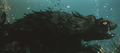 Gamera - 3 - vs Gyaos - 14 - Gamera is underwater healing from wounds