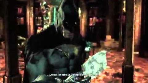 Batman arkham Asylhaken mit Ihren Verwandten