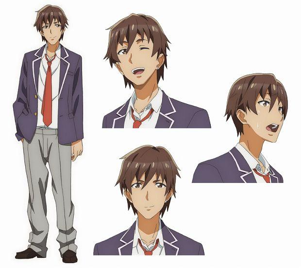 Gamers Anime Character Visual Tasuku Uehara 001 20170520
