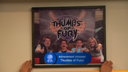 Season 1, Episode 6 - Thumbs of Fury! achievement
