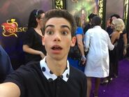 Cameron Boyce Descendants Premiere (1)
