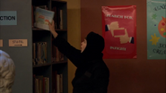 Season 1, Episode 2 - Wendell sneaking book on shelf