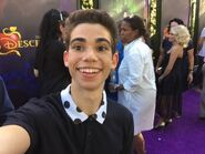 Cameron Boyce Descendants red carpet